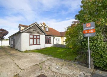 Thumbnail 4 bed semi-detached house for sale in Upminster Road North, Rainham, Essex