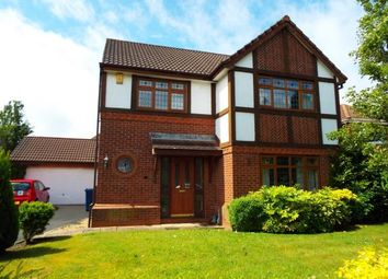 Thumbnail 4 bed detached house for sale in Neath Close, Walton-Le-Dale, Preston, Lancashire