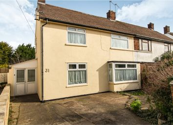 Thumbnail 4 bedroom semi-detached house for sale in Tennyson Road, Penarth