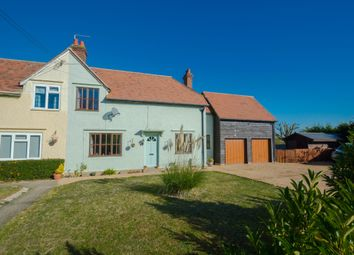 Thumbnail 4 bed semi-detached house for sale in Abbots Cottages, Sturmer, Haverhill