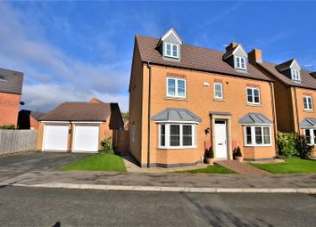 Thumbnail 5 bed detached house for sale in Belvoir Close, Stamford