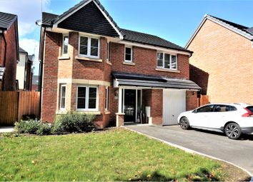 Thumbnail 4 bed detached house for sale in Collingwood Crescent, Swindon