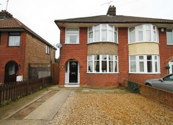 Thumbnail 3 bed semi-detached house for sale in Mildmay Road, Ipswich, Suffolk