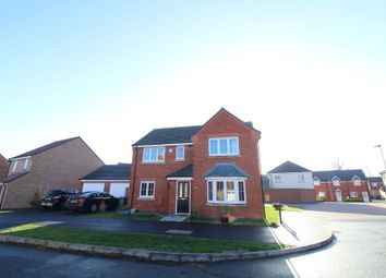 Thumbnail 4 bed detached house for sale in Loch Lomond Way, Peterborough