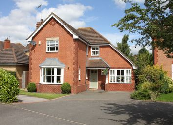 Thumbnail 4 bed detached house for sale in Percival Drive, Harbury