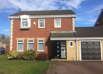 Thumbnail 4 bed detached house for sale in Rowan Close, Bedlington
