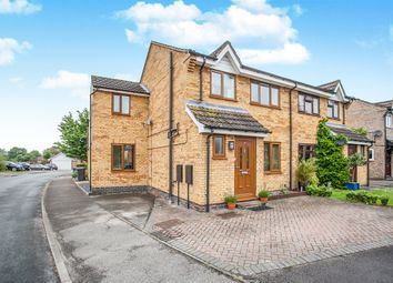 Thumbnail 4 bedroom semi-detached house for sale in Carsons Drive, Great Cornard, Sudbury