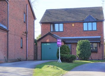 Thumbnail 4 bed detached house for sale in Clumber Close, Ripley