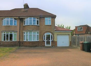 Thumbnail 3 bed semi-detached house to rent in Heversham Road, Bexleyheath, Kent