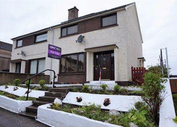 Thumbnail 3 bedroom end terrace house for sale in Macrae Grove, Dingwall