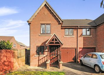 Thumbnail 3 bed semi-detached house for sale in Weavers Close, Chippenham