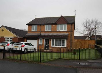 Thumbnail 4 bed detached house for sale in Pinewood Avenue, Northburn Chase, Cramlington