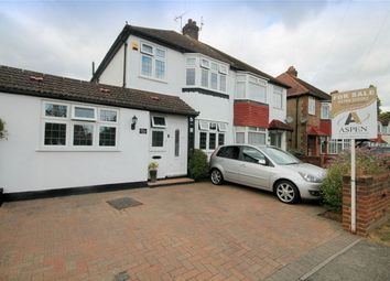 Thumbnail 4 bed semi-detached house for sale in Long Lane, Staines-Upon-Thames, Surrey