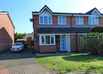 Thumbnail Semi-detached house for sale in Highmeadow, Radcliffe, Manchester