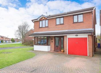 Thumbnail 4 bed detached house for sale in Larchmere Drive, Essington, Wolverhampton, Staffordshire