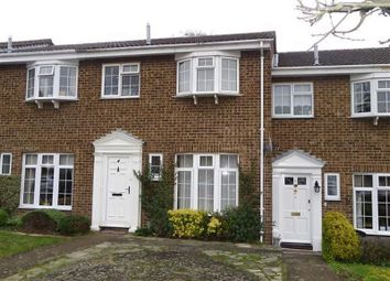 Thumbnail 3 bed terraced house to rent in Regency Drive, West Byfleet
