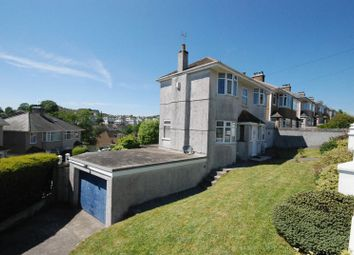 Thumbnail 4 bed detached house for sale in Efford Crescent, Plymouth