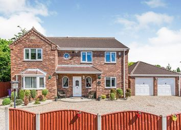 Thumbnail 4 bed detached house for sale in Orchard Close, Eggborough, Goole