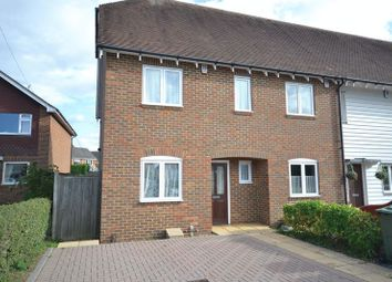 Thumbnail 2 bed terraced house to rent in Grigg Lane, Headcorn, Ashford