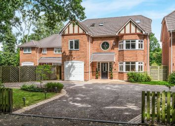 Thumbnail 5 bed detached house for sale in St. Bernards Road, Solihull