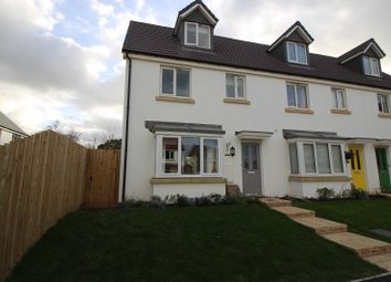 Thumbnail 3 bed end terrace house to rent in Sea King Close, Bickington, Barnstaple
