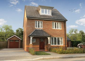 "Thumbnail 4 bed detached house for sale in ""The Morris"" at Church Lane, Wistaston, Crewe"