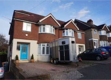 Thumbnail 4 bed semi-detached house to rent in Redstone Park, Redhill