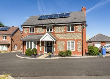 Thumbnail 4 bed detached house for sale in Church Crookham, Hampshire