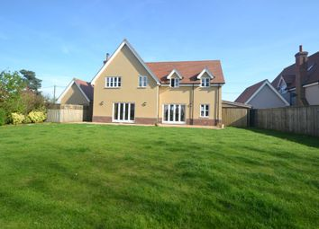 Thumbnail 5 bed detached house for sale in The Street, Chattisham, Suffolk