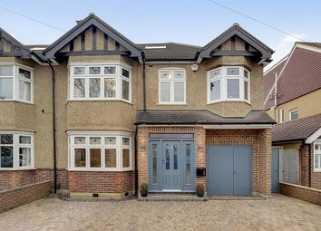 Thumbnail 5 bed semi-detached house for sale in Wickham Avenue, North Cheam, Sutton