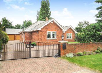 Thumbnail 3 bed detached bungalow for sale in Vicarage Lane, Long Sutton, Spalding