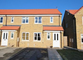 Thumbnail 2 bed semi-detached house for sale in Brunswick Crescent, Sherburn In Elmet, Leeds