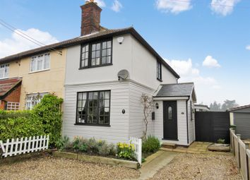Thumbnail 2 bedroom semi-detached house for sale in London Road, Feering, Colchester