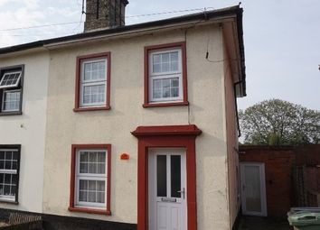 Thumbnail 2 bedroom semi-detached house for sale in Victoria Road, Diss