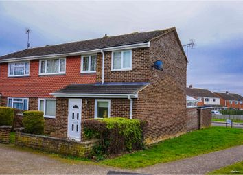 Thumbnail 4 bed semi-detached house for sale in Angus Drive, Bletchley