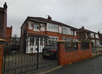 Thumbnail 3 bedroom semi-detached house for sale in Manley Road, Chorlton, Manchester, Greater Manchester