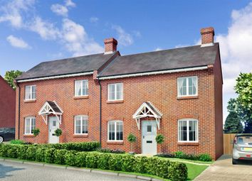 Thumbnail 2 bed semi-detached house for sale in Merlion Homes, Norton Heights, Lovedean, Waterlooville, Hampshire
