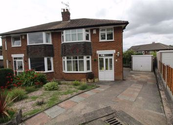 Thumbnail 3 bed semi-detached house to rent in Boundary Close, Woodley, Stockport
