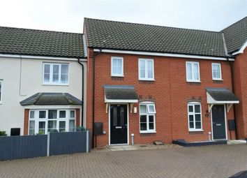 Thumbnail 2 bed terraced house for sale in Clement Attlee Way, King's Lynn, Norfolk