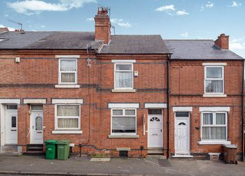 Thumbnail 2 bed terraced house for sale in Ewart Road, Nottingham