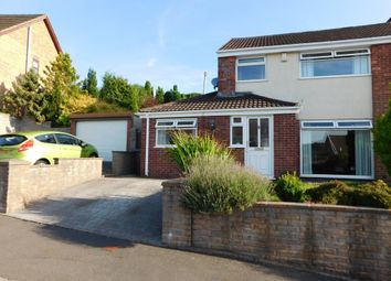 Thumbnail 3 bed semi-detached house for sale in Glenview Court, Newbridge, Newport