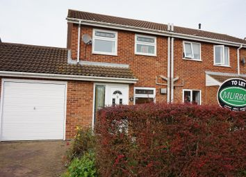 Thumbnail 3 bed semi-detached house to rent in Ash Place, Stamford