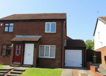 Thumbnail 2 bed semi-detached house for sale in Lapwing Close, Ayton, Washington