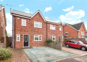 Thumbnail 3 bedroom semi-detached house to rent in Carey Road, Wokingham, Berkshire