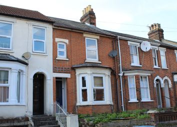 Thumbnail 2 bed terraced house to rent in Rectory Road, Ipswich