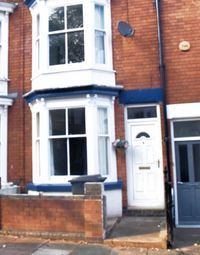 Thumbnail 4 bed terraced house to rent in Harrow Road, Leicester