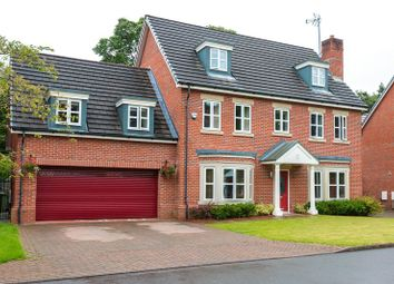 Thumbnail 5 bedroom detached house for sale in Woodlands Park Close, Wigan