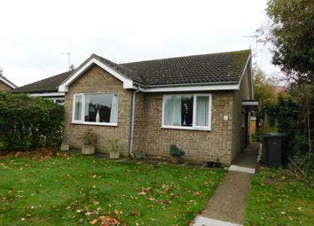 Thumbnail 2 bedroom semi-detached bungalow for sale in Delius Close, Stowmarket