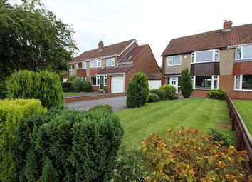 Thumbnail 3 bedroom semi-detached house for sale in The Oval, Woolsington, Newcastle Upon Tyne