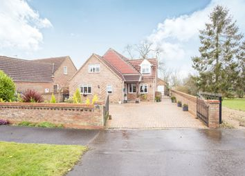 Thumbnail 4 bed detached house for sale in Low Road, Stow Bridge, King's Lynn